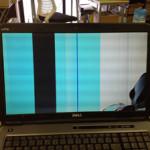 液晶修理 DELLの画面割れによる液晶交換を格安に行います!