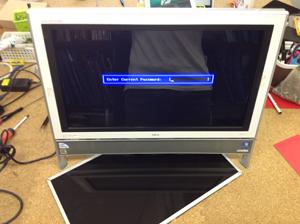 NEC PC-VN370FS6W 液晶パネル