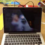 MacbookProRetinaの液晶割れを格安に直します!
