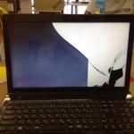 Lenovo g580の画面割れが格安に直せます!