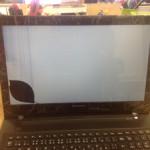 Lenovo  画面割れ、表示不良の修理実績
