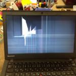 Lenovo X240の画面割れの修理はお任せください!