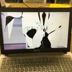 ASUSのノートパソコン液晶修理 画面割れの格安修理!