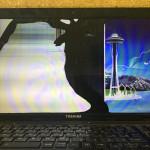 東芝 dynabook T552/58HBの画面割れの液晶交換が格安!