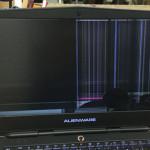 DELL Alienware 15 R2の液晶割れを格安に修理します!