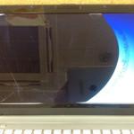 clevo W76CU 液晶割れ