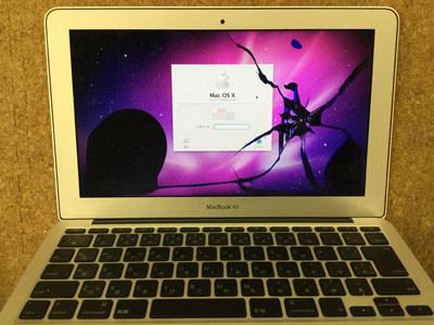 macbookair11 液晶割れ
