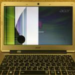 Acer Aspire S3の液晶割れ、画面割れを格安修理します