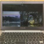 ZENBOOK UX32Lの画面割れ、亀裂の格安パソコン修理