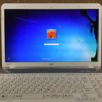 NECパソコンの液晶交換は即日修理が可能です!