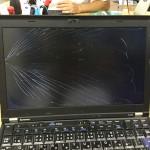 Thinkpad x220 液晶割れ