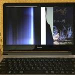 LuvBook LB-B422XN 液晶割れ