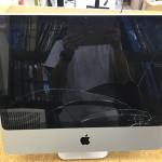 iMac 20 ガラス割れ