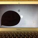 macbookair11 A1370 液晶割れ