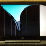NEC PC-LL870WG 液晶割れ