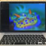 Macbook Pro Retina 液晶割れ
