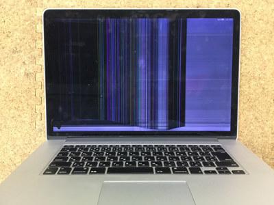 MacbookPro 画面割れ