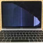 Macbook 12 画面割れ