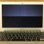 MacbookAir 画面の故障