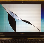 DELL inspiron n5110 液晶割れ