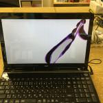 PC-LS150NSB 液晶割れ