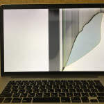 Apple 液晶割れ
