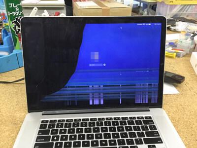 macbook pro 液晶割れ