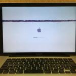 Macの画面が乱れる、ノイズ、にじみがある場合はロジックボード故障かも?