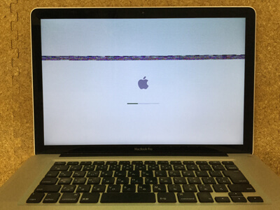 Mac 画面の乱れ