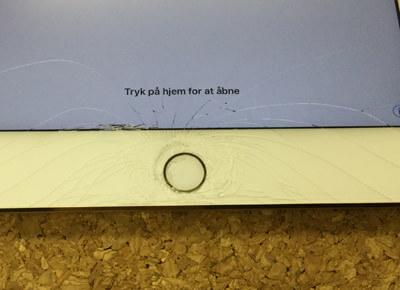 iPad Mini4 液晶割れ