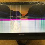 Lenovo C40の液晶割れ、表示不良、画面に線があるパソコン修理