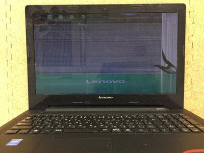 Lenovo G50 液晶割れ