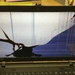 パソコンの液晶割れの原因と修理代金を調査