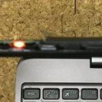 ASUS T100HAが電源が入らない、起動しない、ランプ点滅