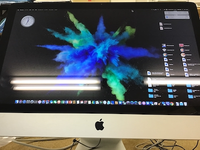 iMac グラフィック修理