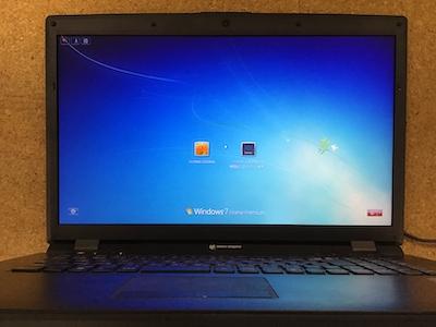 W170HN パソコン修理