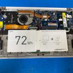 LG gram 15Z980のパソコン修理 画面が映らない