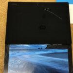 Lenovo ideapad miix 700-12isk 液晶割れ修理
