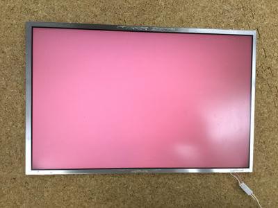 パソコンの画面が赤い