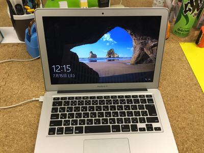 macbook air 液晶交換後