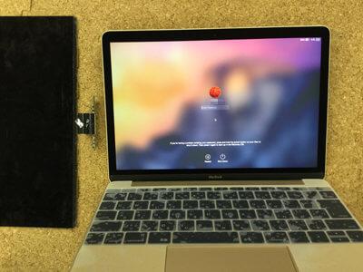 Macbook 12 液晶交換