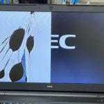 NEC VersaPro VF-4の液晶画面割れ パソコン修理