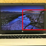 HP 15-af165auの液晶画面割れ パソコン修理