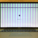 MacBook Airの液晶画面に線が入る!原因や修理費用など