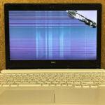 NEC PC-GN224FSA5の液晶画面割れのパソコン修理