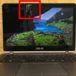 UX360UA 画面割れ