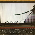 NEC GN17CJ/S7のパソコン修理 液晶交換が格安!