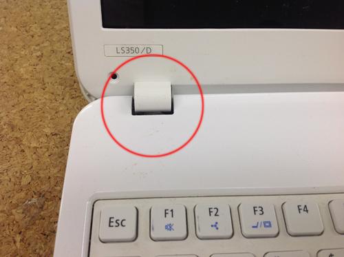 ノートパソコン修理方法 工程6