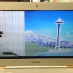 液晶修理 東芝 Dynabook R632の画面割れ