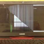 中国PC HASEE 液晶割れ、線、亀裂の修理